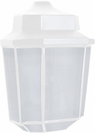 Costaluz 302853-FR 3028 Series Contemporary White Frosted Outdoor Light Sconce
