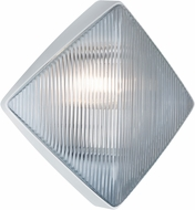 Costaluz 311053 3110 Series Contemporary White Outdoor Wall Sconce Lighting
