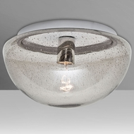 Costaluz 8490CLC Billow Modern Flush Ceiling Light Fixture