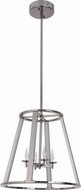 Craftmade 42434-BCH-LED Opus Contemporary Black Chrome LED 16 Entryway Light Fixture