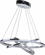 Craftmade 42724-CH-LED Anello Contemporary Chrome LED Island Lighting