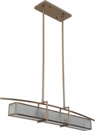 Craftmade 46070-BB Kodo Modern Brushed Bronze Kitchen Island Lighting