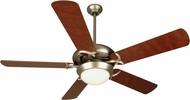 Craftmade CIU52BN5 Civic Unipack Brushed Satin Nickel Indoor 52  Home Ceiling Fan