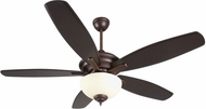 Craftmade CN52OBG5 Copeland Oiled Bronze Gilded Fluorescent Indoor 52  Ceiling Fan