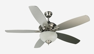 Craftmade CN52SS5 Copeland Stainless Steel Fluorescent Indoor 52  Home Ceiling Fan