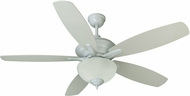 Craftmade CN52W5 Copeland White Fluorescent Indoor 52  Ceiling Fan