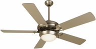 Craftmade CO52BN5 Cosmos Unipack Brushed Satin Nickel Indoor 52  Home Ceiling Fan