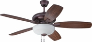 Craftmade FZA52OB5C1 Forza Oiled Bronze Indoor 52  Home Ceiling Fan