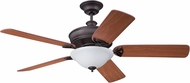 Craftmade GM56ABZ5LK Gambrel Aged Bronze Brushed Fluorescent Indoor 56  Home Ceiling Fan