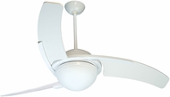 Craftmade JU54W3 Juna Contemporary White Halogen Indoor 54  Home Ceiling Fan