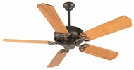 Craftmade K10018 American Tradition Aged Bronze Textured Indoor 52  Home Ceiling Fan