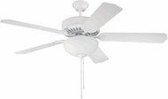 Craftmade K10048 Pro Builder 201 White Fluorescent Indoor 52  Ceiling Fan