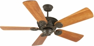 Craftmade K10078 Chaparral Aged Bronze Textured Indoor / Outdoor 52  Home Ceiling Fan