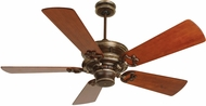 Craftmade K10214 Woodward Dark Coffee/Vintage Madera Indoor 52  Home Ceiling Fan