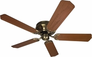 Craftmade K10223 Pro Contemporary Flushmount Antique Brass Indoor 52  Home Ceiling Fan