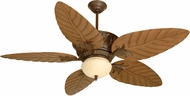 Craftmade K10241 Pavilion Aged Bronze Textured Indoor / Outdoor 52  Ceiling Fan