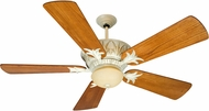 Craftmade K10247 Pavilion Antique White Distressed Indoor / Outdoor 52  Home Ceiling Fan