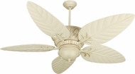 Craftmade K10248 Pavilion Antique White Distressed Indoor / Outdoor 52  Ceiling Fan