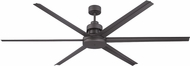 Craftmade MND72ESP6 Mondo Contemporary Espresso Indoor/Outdoor 72  Ceiling Fan