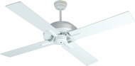 Craftmade SB52W4 South Beach Modern White Fluorescent Outdoor 52  Home Ceiling Fan