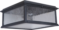 Craftmade Z3227-11 Gentry Midnight Exterior Flush Lighting