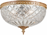 Crystorama 117-12-OB Olde Brass Ceiling Lighting Fixture