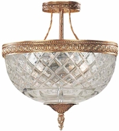 Crystorama 118-10-OB Olde Brass Overhead Lighting