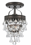 Crystorama 131-VZ-CEILING Calypso Vibrant Bronze Ceiling Lighting