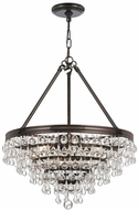 Crystorama 136-VZ Calypso Vibrant Bronze Mini Chandelier Light