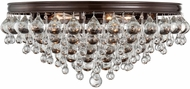 Crystorama 138-VZ Calypso Vibrant Bronze Ceiling Lighting Fixture