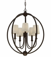 Crystorama 2247-DB Sylvan Dark Bronze Mini Chandelier Lighting