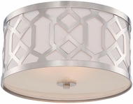 Crystorama 2263-PN Jennings Polished Nickel Flush Lighting