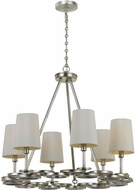 Crystorama 286-SA Graham Antique Silver Mini Chandelier Light
