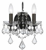 Crystorama 4452-VZ-CL-MWP Filmore Vibrant Bronze Wall Light Sconce