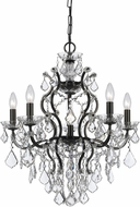 Crystorama 4455-VZ-CL-MWP Filmore Vibrant Bronze Mini Chandelier Lamp