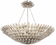 Crystorama 519-SA-CEILING Broche Antique Silver Home Ceiling Lighting