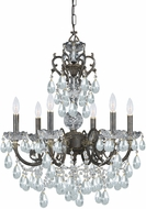 Crystorama 5196-EB-CL-I Legacy English Bronze Mini Lighting Chandelier