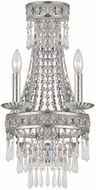 Crystorama 5262-OS-CL-MWP Mercer Olde Silver Wall Lighting Sconce