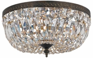Crystorama 716-EB-CL-MWP English Bronze Ceiling Lighting