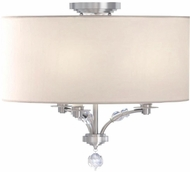 Crystorama 8005-PN-CEILING Mirage Polished Nickel Flush Lighting