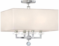 Crystorama 8105-PN-CEILING Paxton Polished Nickel Flush Mount Lighting