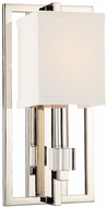 Crystorama 8881-PN Dixon Polished Nickel Wall Light Sconce