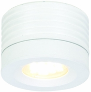 CSL SS2015-WT-3 Entity Modern White LED Wall Light Fixture / Flush Mount Lighting