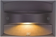 CSL SS3001-BZ Steplight Modern Bronze LED Exterior Step Lighting