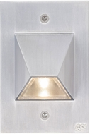 CSL SS3003-SM Steplight Contemporary Silver Metallic LED Outdoor Step Light