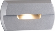 CSL SS3004-SM Steplight Modern Silver Metallic LED Exterior Step Lighting