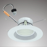 Cyber Tech LC12RT6-ECO-S LED Outdoor 6  Smooth Retrofit Downlight Recessed Lighting Fixture