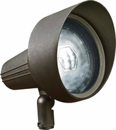 Dabmar DPR40-HOOD-BZ Bronze Exterior Directional Spot Lighting with Hood