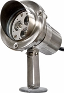 Dabmar LV-LED11 Modern Stainless Steel LED Exterior Spotlight with Hood