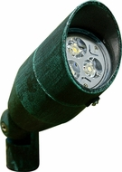 Dabmar LV-LED190-PG Contemporary Patina Green LED Outdoor Cast Aluminum Directional Spot Lighting with Hood